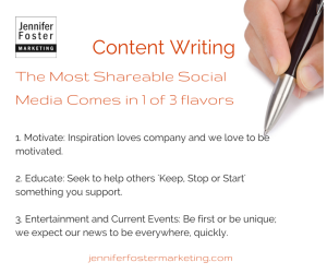 The most shareable social media need to be relevant to the reader's emotions.