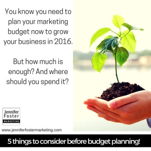 Marketing Budget Planning