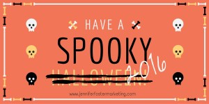 With big risk can come some pretty big rewards. While there's still some wiggle room in your 2016 budget let's consider putting some SPOOK in your plan!