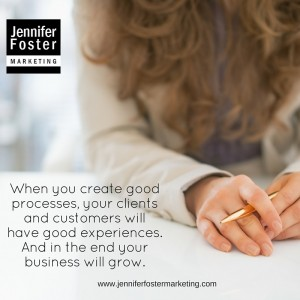 Market-driven- When you create good processes, your clients and customers will have good experiences, and in the end your business will grow.